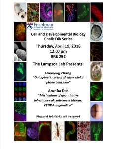 CDB Chalk Talk: Lampson Lab @ BRB 252 | Philadelphia | Pennsylvania | United States