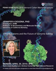 Jennifer Doudna @ Rubenstein Auditorium