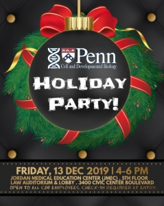CDB Holiday Party @ JMEC Law Auditorium & Lobby