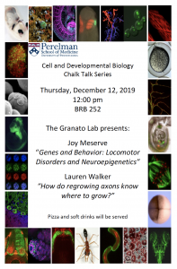 CDB Chalk Talk: Granato Lab @ 252 BRB