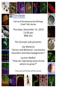 CDB Chalk Talk: Granato Lab @ 252 BRB
