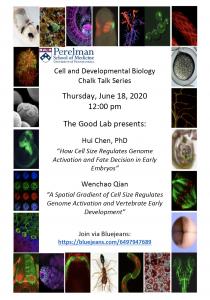 Good Lab Chalk Talk @ Via web