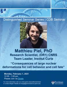Matthieu Piel, PhD @ Zoom